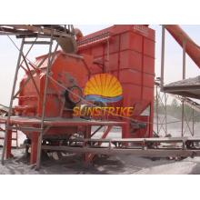 Sitio de la planta de trituración de piedra en China