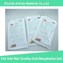 Sal de rehidratación oral de la mejor calidad de la venta caliente