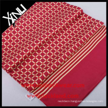 New Design Screen Print Chinese Scarf For Silk Men's