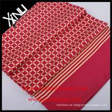 Lenço chinês novo da cópia de tela do projeto para homens de seda