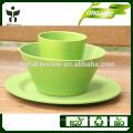 Eco-Friendly Matéria e estilo país material de fibra vegetal Tipo de louça