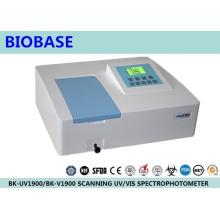 Balayage Laboratoire Biobase Spectrophotomètre UV / Vis à faisceau simple / double