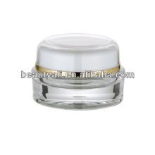 5 мл прозрачная пластиковая акриловая упаковка Jar