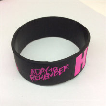 Customize Dedossed Printed Original Cheap Silicon Wristbands