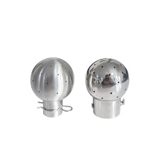 Sanitary cleaning ball fluid spare parts 304/316 stainless steel Bolt fixed spray ball