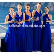 Femmes robe décontractée sans manches Boho Crocheted robe cami confortable