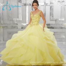 Organza Satin Ball Gown Personalizar su propio vestido Quinceanera