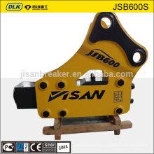 JSB1600S model JISAN brand hydraulic excavator breaker for 20-25 ton excavator