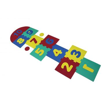 Melors Foam Puzzle Play Mat para Jummping Game 0-10 Early Education Play Mat No tóxico