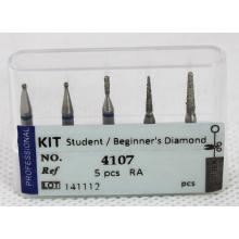 Dental Bur Kit - Student / Anfänger Diamond Ra. Langsame Geschwindigkeit