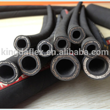 Flexible high pressure flexible rubber hydraulic hose