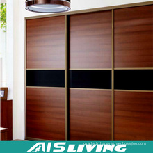 armoires de chambre à coucher de garde-robe de mode, conception moderne de grand placard en bois (AIS-W458)