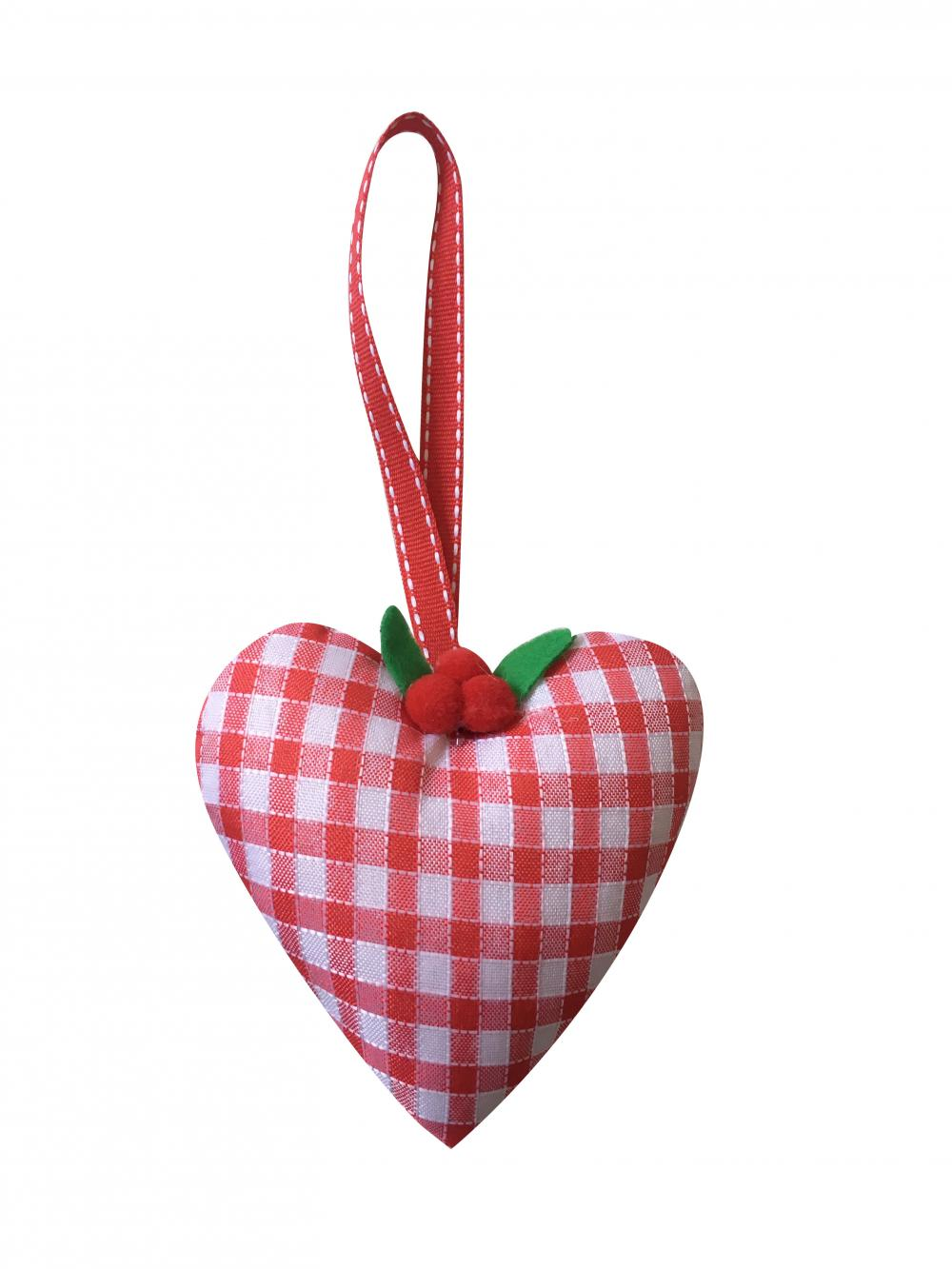 Christmas Heart Shape Hanging Decorations