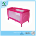 Foldable Hot Sale Baby Game Bed with Second Layer (SH-A13)