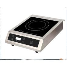 2 охлаждающий вентилятор готовить Нержавеющая сталь 3500W Электрический индукционная варочная поверхность, Электрический прилавок горелки