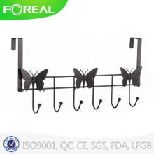 Spectrum Diversified Bronze Over The Door 6 Hook Rack