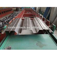 Máquina de formación de piso de la cubierta que forma la máquina