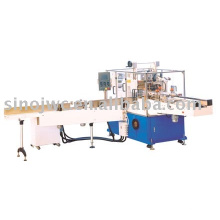 Tri-dimensional facial napkin fully-automatic packing machine