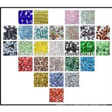 Marché des perles de yiwu, perles de verre en placoplâtre en perles de verre, perles de bicône, usine de perles de porcelaine
