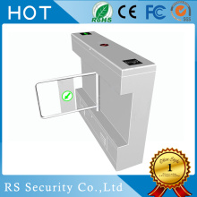 Intelligent Pedestian Entrance Waist High Swing Turnstiles
