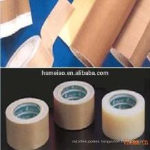Non-stick Teflon PTFE coated fiberglass fabric adhesive tape