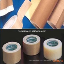 Teflon antiaderente PTFE revestido fita adesiva de fibra de vidro tecido