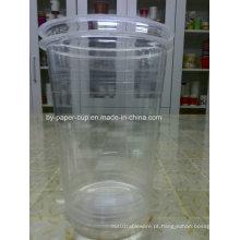 Grande capacidade em 34 oz copo de plástico transparente com boa qualidade