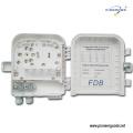 PG-FTTH0208B 8 cœurs FTTH boîte murale extérieure de distribution de gestion optique de gestion de fibre