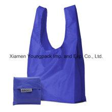 Baggu Custom Waterproof 190t Ripstop Nylon Foldable Shopping Bag
