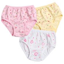 Roupa interior das meninas do verão 2-9 anos roupa interior velha dos miúdos