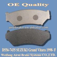 D556 SUZUKI niedrige Metall Bremsbeläge von Grand Vitara 1998- F