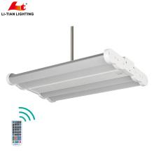 ETL Alto flujo de luz 0-10V Emergencia 130lm / W Movimiento opcional LED Alta luz de la bahía 100w 140w 200w 300W