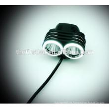 Multi-función de alta potencia 1800Lumens 2XCREE XML T6 LED luces de bicicletas con batería recargable 18650