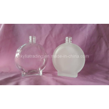 Frasco de perfume oval do vidro de Frost da forma 100ml