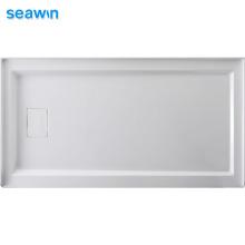 Seawin Custom Easy Bathroom Installation Pan Tray Acrylic Shower Base
