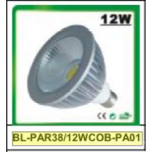 12W regulable / no regulable PAR38 COB LED proyector