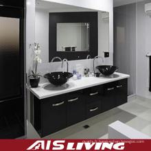 Vanité de miroir de meubles de salle de bains de mélamine de style du Moyen-Orient (AIS-B015)