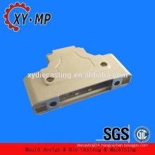 Sapre parts abc 12 aluminum machining military communication equipment part