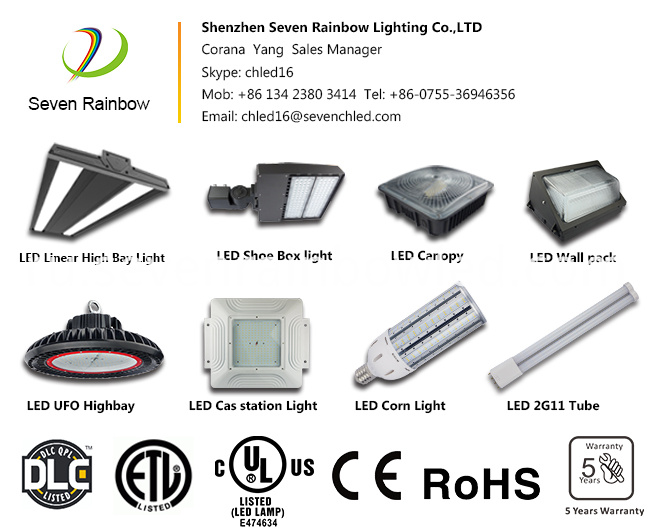 120W Led Shoebox Street Fixture