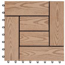 Hot Sale Waterproof WPC Wood Plastic Composite Deck Tile