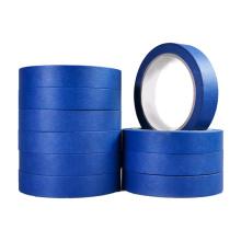 Blue Crepe Paper adhesive Masking Tape Car tape