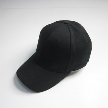 Black Soft Mesh Cap