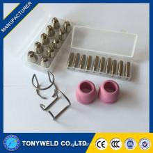 Tocha refrigerada a ar AG60 protetor de eletrodo de bico de plasma