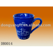 Taza de cerámica de la promoción de la fábrica al por mayor directa de la fábrica 9