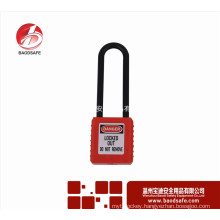 Wenzhou BAODSAFE Long No-Conductive shackle safety padlock BDS-S8631