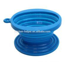 China Professional Manufacturer BPA Free Food Grade Heat Resistant Collapsible Non-toxic Single Silicone Coffee Dripper/Filter