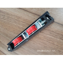 Black Plastic Wheels Sliding Door and Window Pulley Rollers to Ghana and Algeria