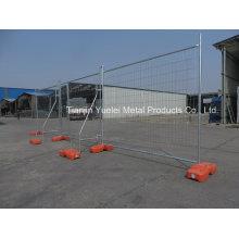Временный металлический забор Толпа забор контроля / строительство Временный забор / оцинкованный Австралия Временное ограждение