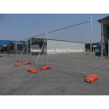 Temporary Metal Fence Crowd Control Fence/Construction Temporary Fence/Galvanized Australia Temporary Fencing