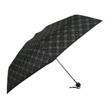 5-кратный мини-зонт с рисунком и защитой от ультрафиолета